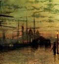 Grimshaw John Atkinson Humber Docks Hull