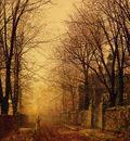 Grimshaw John Grimshaw A Golden Beam