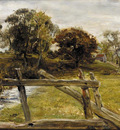 Millais John Everett View Near Hampstead