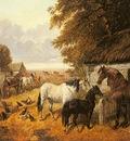 Herring Jr John Frederick Bringing In The Hay