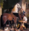 Herring Snr John Frederick Feeding The Arab