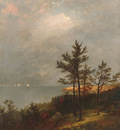 Kensett John F Gathering Storm On Long Island Sound