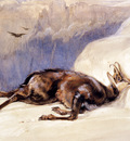 Lewis John Frederick The Chamois Sketched In The tyrol
