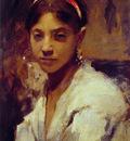 Head of a Capril Girl