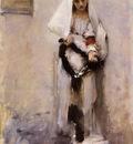 Sargent John Singer A Parisian Beggar Girl