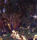 Sargent John Singer Albanian Olive Pickers