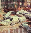 Sargent John Singer Muddy Aligators