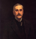 Sargent John Singer Portrait of Colonel Thomas Edward Vickers