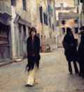 Sargent John Singer Street in Venice