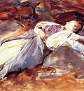 Sargent John Singer Violet Sleeping