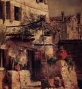 Twachtman John A Venetian Scene