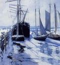 Twachtman John Connecticut Shore Winter