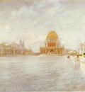 Twachtman John Court of Honor World s Columbian Exposition