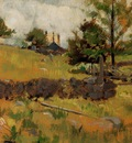 Twachtman John Spring Landscape