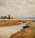 Twachtman John The Inlet