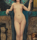 Godward John William Study of Campaspe