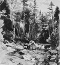Hill John William Peabody At The Glen New Hampshire