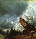 Turner Joseph Mallord William The Fall of an Avalanche in the Grisons