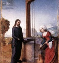 JUAN DE FLANDES Chrsit And The Woman Of Samaria