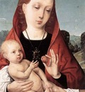 JUAN DE FLANDES Virgin And Cild Before A Landscape