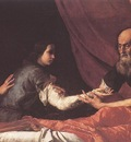 Ribera Jacob Receives Isaac s Blessing