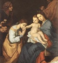 Ribera The Holy Family with St Catherine