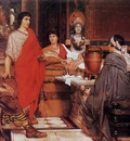 Alma Tadema Catullus at Lesbia s
