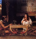 Alma Tadema Egyptian Chess Players