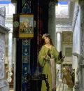 alma tadema in the temple opus 89