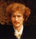 Alma Tadema Portrait of Ignacy Jan Paderewski