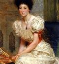 Alma Tadema Sir Lawrence Portrait Of Mrs Charles Wyllie
