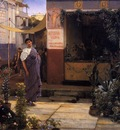Alma Tadema The Flower Market