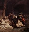 Alma Tadema The Massacre of the Monks of Tamond