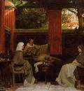 Alma Tadema Venantius Fortunatus Reading His Poems to Radegonda VI