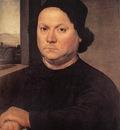 LORENZO DI CREDI Portrait Of Perugino