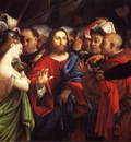 Lotto Lorenzo Christ And The Adulteress