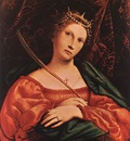 lotto lorenzo st catherine of alexandria