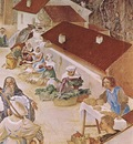 Lotto Lorenzo Stories of St Barbara 1524 detail1