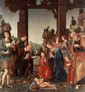 Lorenzo di Credi Adoration of the Shepherds