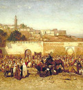 Tiffany Market Day Outside the Walls of Tangier