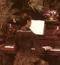 Abbema Louise At The Piano