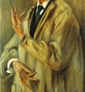 Corinth Lovis Portrait of the Painter Otto Eckmann