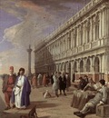 CARLEVARIS Luca The Piazzetta And The Library