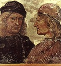 SIGNORELLI Luca Self portrait With Vitelozzo Vitelli