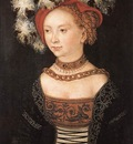 CRANACH Lucas the Elder Portrait Of A Young Woman
