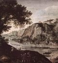 VALKENBORCH Lucas van View Of Huy From Ahin