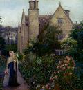 Stillman Marie The Long Walk At Kelmscott Manor Oxfordshire