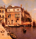 Ortega Martin Rico y A Venetian Afternoon