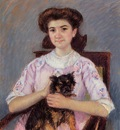 Cassatt Mary Portrait of Marie Louise Durand Ruel