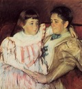 Cassatt Mary Portrait of Mrs Havemeyer and Her Daughter Electra